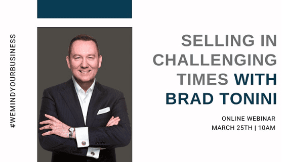 Selling In Challenging Times