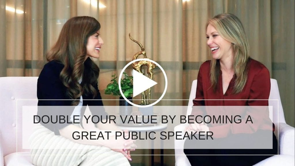 How To Double Your Value By Becoming A Great Public Speaker