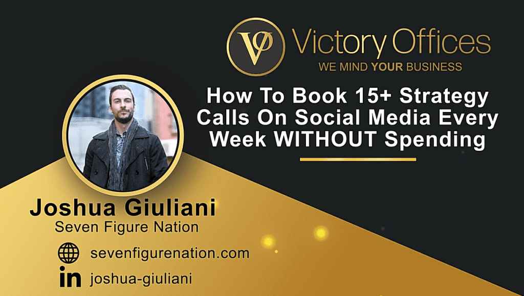 How To Book 15+ Strategy Calls On Social Media Every Week WITHOUT Spending