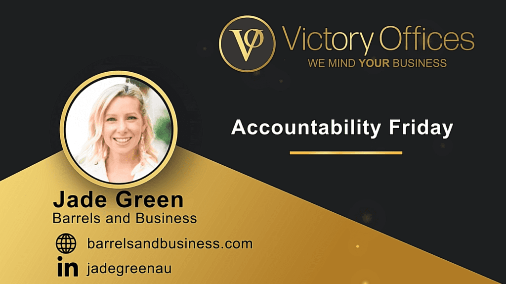 Accountability Friday | With Jade Green
