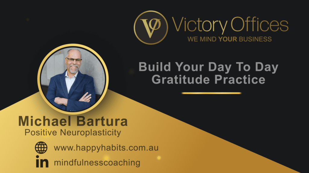 Build Your Day To Day Gratitude Practice