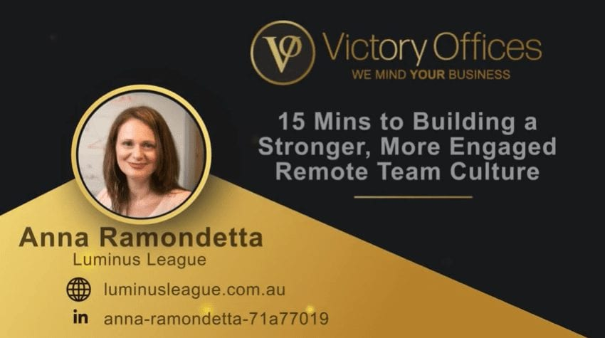 15 Mins to Building a Stronger, More Engaged Remote Team Culture