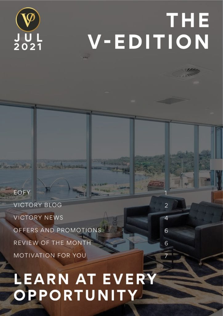 Front cover of V-Edition July 2021