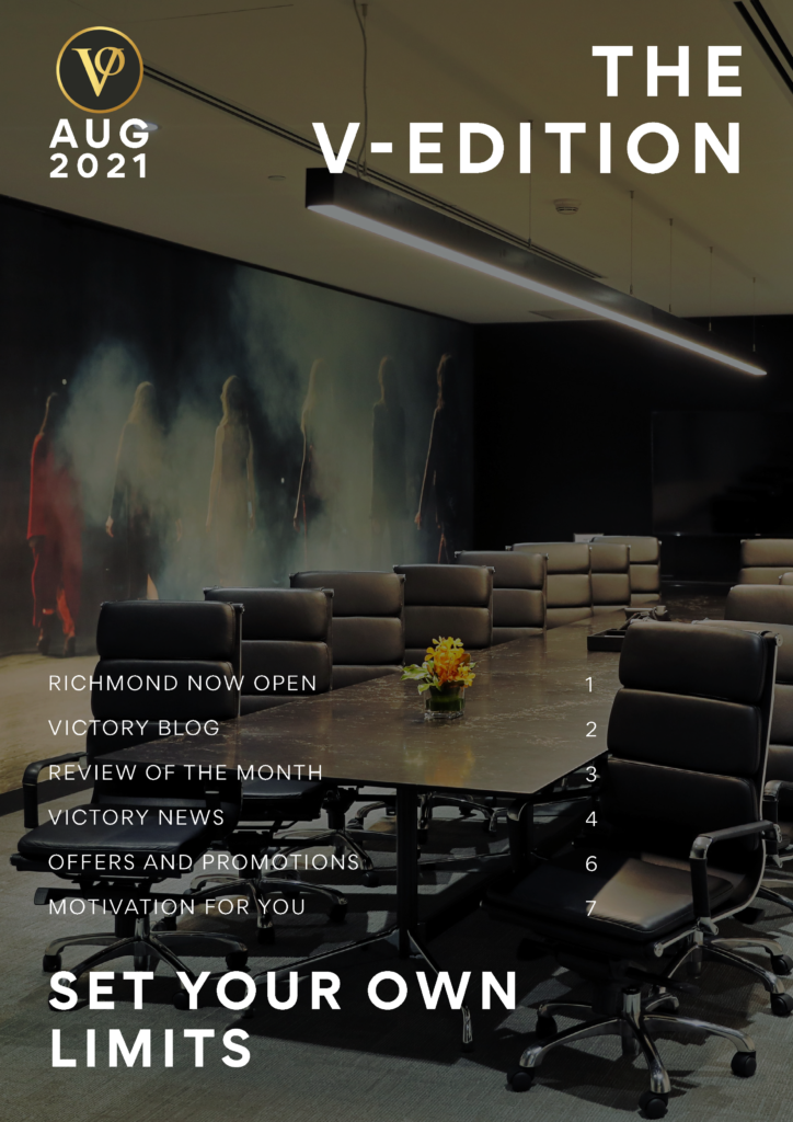 V-Edition August Front cover